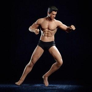 """Image 4 - 1/12 Schaal TM01A TM02A Flexibele Man Gespierde Man En Sexy Vrouwelijke Volledige Set Body Met Hoofd Carving Voor 6 """"action Figure Body Speelgoed"""