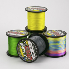 Fishing line 500M PE Line 4-8Strands Braided Raw silk weave does not fade Multifilament Smooth