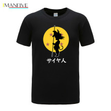 New Cotton Funny T shirts Dragon Ball Z T-shirt Men Print Son goku Goku 2019 Fashion shirt Tops Tees tshirt