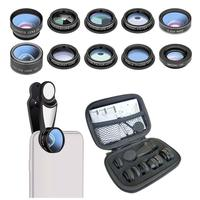 Ten In One Universal External Phone Lens Strong Perspective Effect Enhance Infection Optical Glass 1 Pcs|Mobile Phone Lens|   -