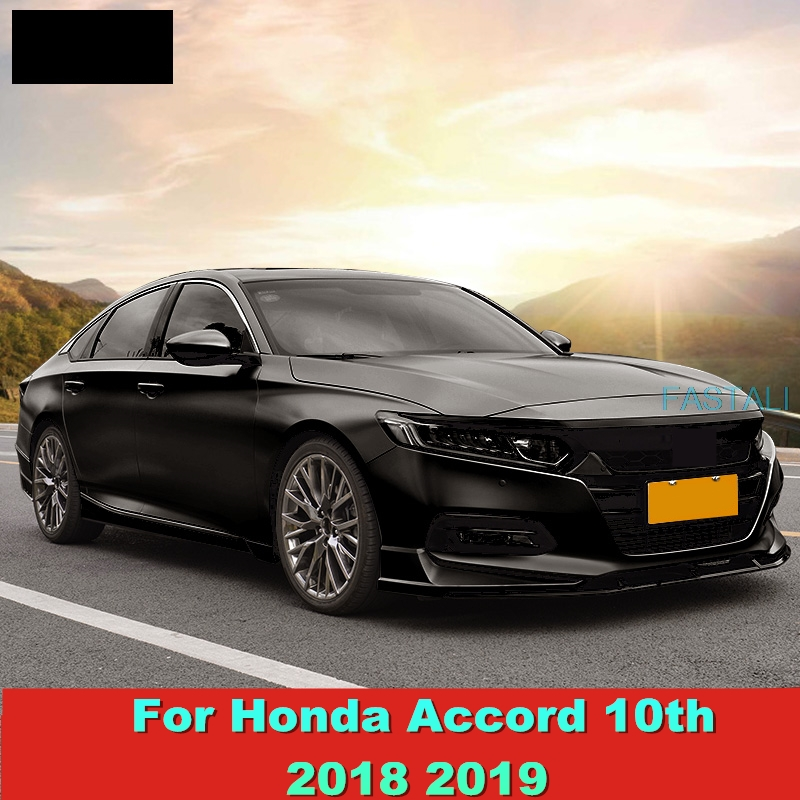Chrome Rear Bumper Fog Light cover trim for Honda Accord 2018 2019