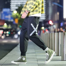 Harem Pants Men 2019 Autumn Men Multi Pocket Trousers Men Streetwear Cargo Pant Hip Hop Casual Trousers Joggers R(China)