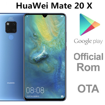 """DHL Fast Delivery HuaWei Mate 20 X 4G LTE Cell Phone Kirin 980 Android 9.0 7.2"""" 2K 2240X1080 8GB RAM 256GB ROM 40.0MP In Stock 1"""