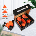 4pcs/set 90 Degree Right Angle Clamp Fixing Clip Photo Picture Frame Corner Woodworking Clip Positioning Fixture DIY Repair Tool