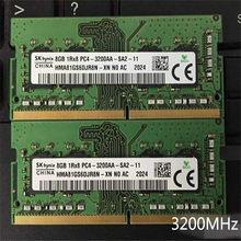 Sk hynix portable memoria DDR4 RAM 8 GO 1Rx8 PC4-3200AA-SA2-11 ddr4 8 go 3200MHz Ordinateur Portable ram 260pin DDR4 8 GO 3200 mémoire pc portable