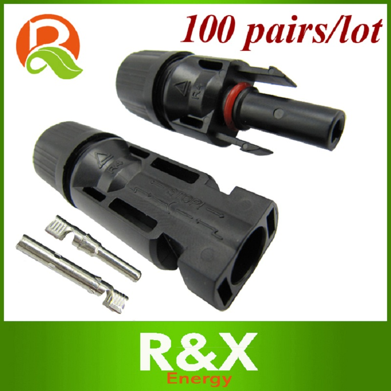 5 pairs MC4 solar connector PPO housing material. TUV approved PV connector. Free shipping.