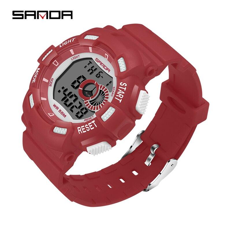 Children's Watch Boy Sports Watch Life Waterproof Digital LED Alarm Clock Date Watch Children's Day Gift Hombre Reloj Deportivo
