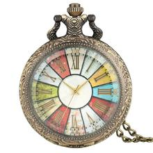 Buy Europe Gothic Pocket Watch Men Glass Case Roman Numerals Dial High Quality Necklace Chain Pendant Watches catedral relogio directly from merchant!