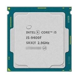 Intel core i5 9400f seis-core seis-threads i5 9400f 6-core 6-threads 9 m processador lga 1151 peças espalhadas cpu