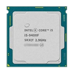 Procesador Intel Core I5 9400F de seis núcleos de seis hilos i5 9400F de 6 núcleos de 6 hilos procesador de 9M LGA 1151 piezas dispersas cpu