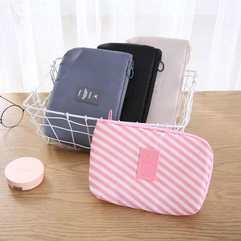 Casual Travel Digital Packing Cubes USB Earphone Charger Protector Bag Shockproof Sundries Storage Pouch Cover