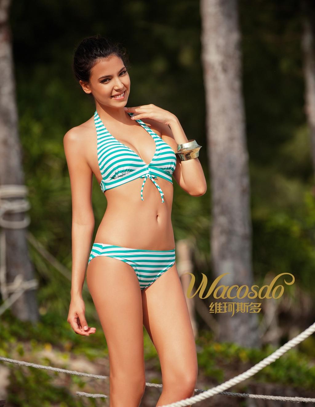 3039 Wei Ke Stoic European And American Sexy Swimsuit Ladies Bikini Swimwear Speed Sell