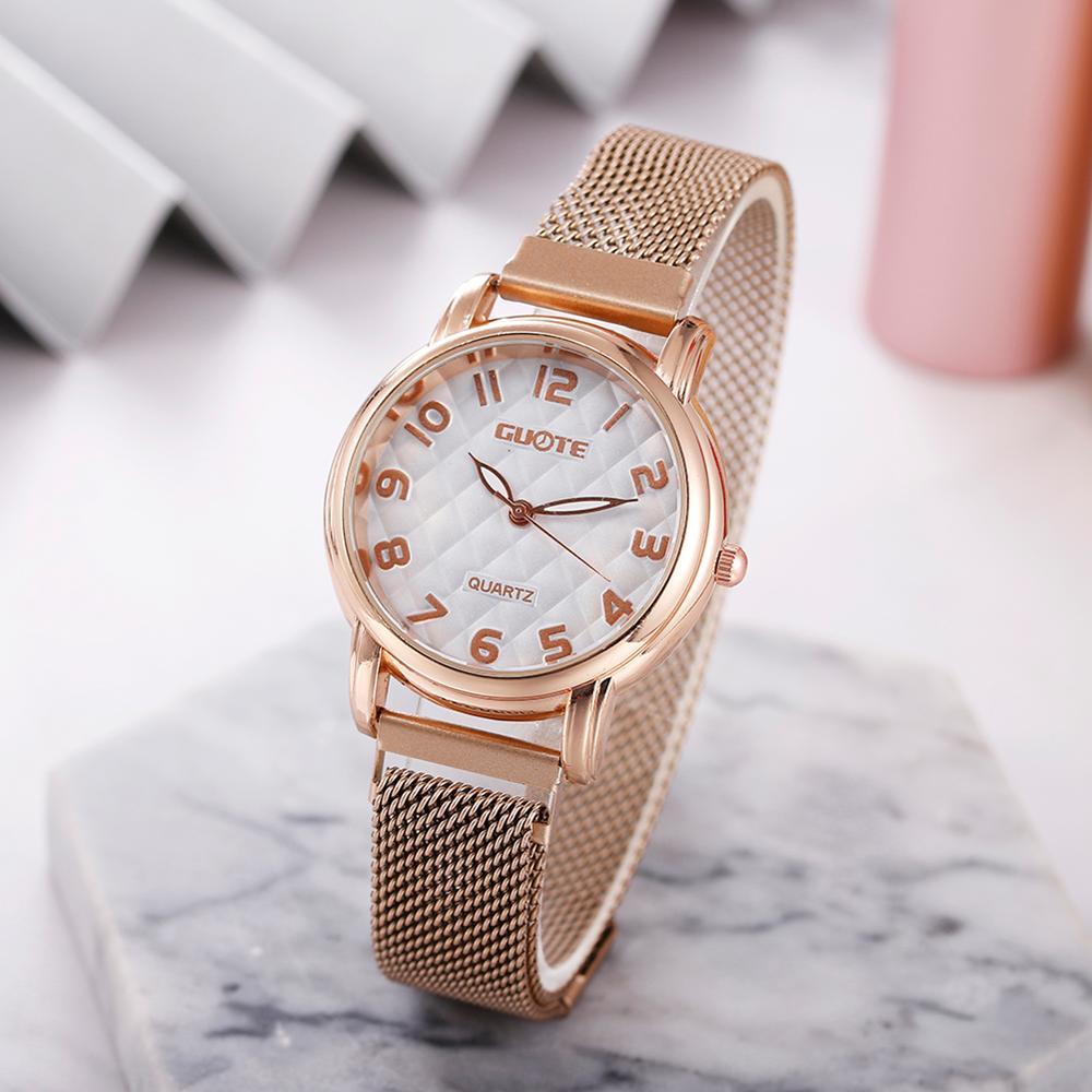 Reloj Mujer 2020 New Fashion Women Watch Luxury Brand Quartz Watch With Magnetic Strap Female Wristwatch Bear Watch Relogios