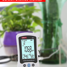Detector Air-Quality Uni-T-A37 Indoor/outdoor with Rechargeable-Battery Tvoc-Tester Co2-Meter-Monitor-Tester