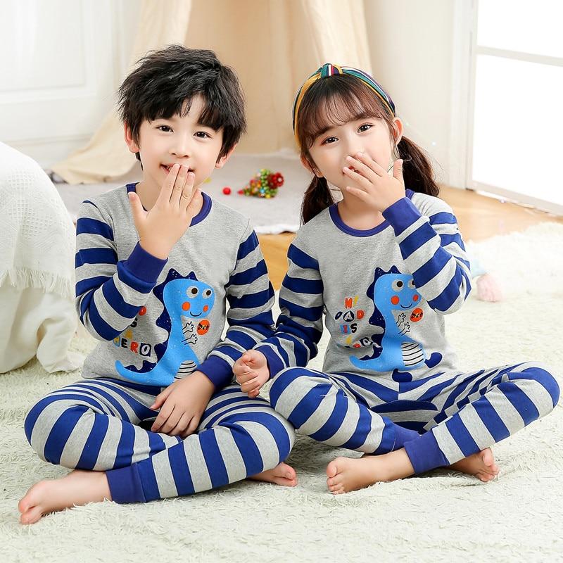 Kids Clothes Big Boys Girls Pajamas Unicorn Pyjamas Kids Sleepwear Cotton Toddler Nightwear Cartoon pijamas enfant Baby pajamas 6