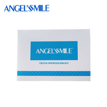 Angelsmile Silicone Dental Impression Kit Self Use Custom Tooth Bleaching Tray Dental Retainer Impression Putty Kit Dropshipping