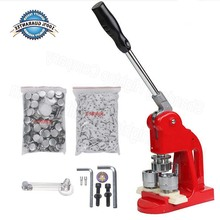 Button Maker, 1/1.25/2.3 inch 25/32/58mm Badge Punch Press Maker with 500 Circle Button Parts for DIY … (2.3 inch 58mm)