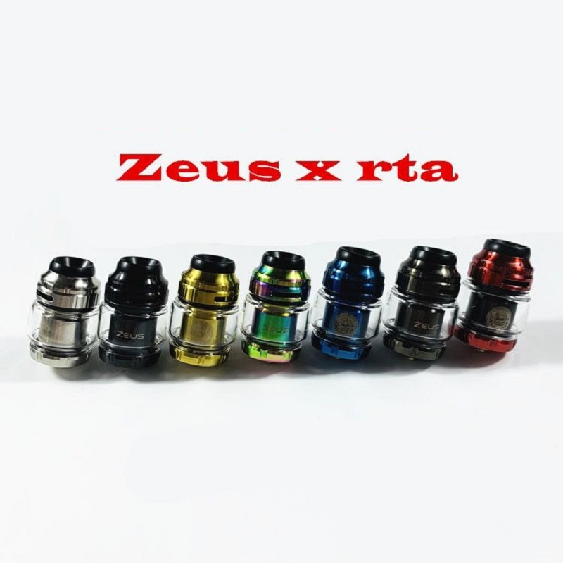 RTA Atomizer Zeus X Rta 316 MTL Tank 24mm 4.5ML Atomizer Electronic Cigarette Rebuildable Tank Adjustable Airflow For Vape Mod