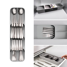 Cutlery Drawer Organizer Trays For Drawers Spoon Separation Finishing Storage Box Kitchen Organization