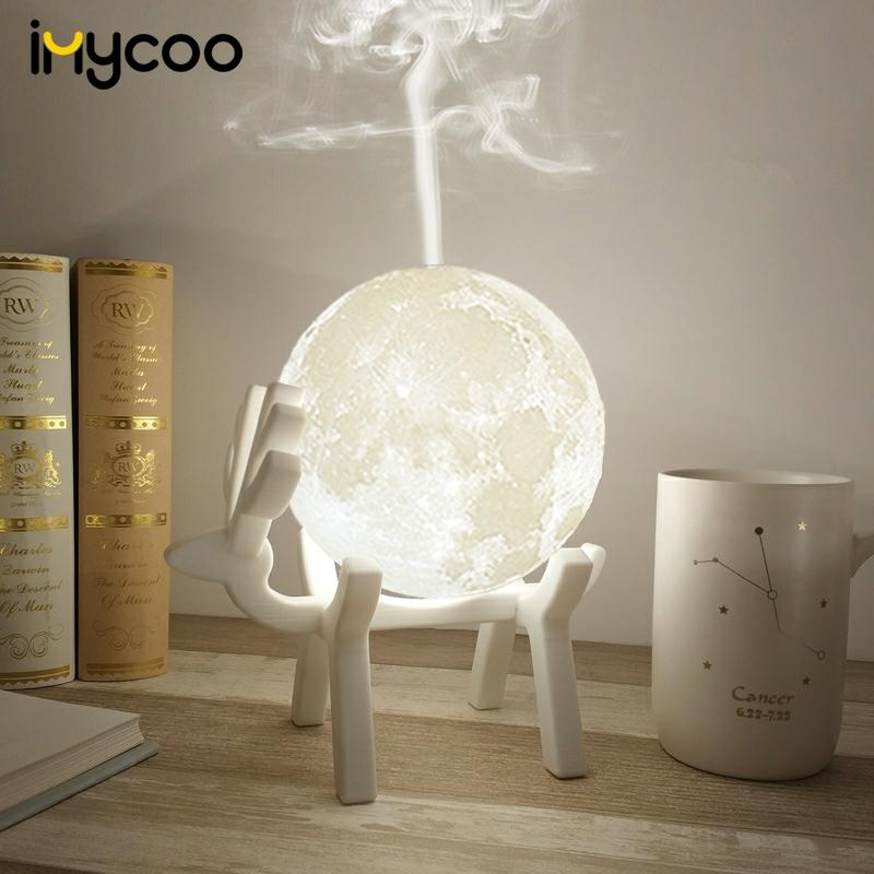 Ultrasonic Moon Air Humidifier Aroma Air Purifiers Our Favorites