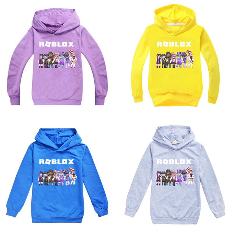 3-14 Years Boys Girls Hoodies 100% Cotton Cartoon Pattern Jogger Hoody Man Sweatshirts Spring Autumn Children's Clothes Blouse