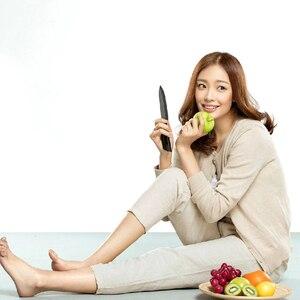Image 4 - Original Xiaomi HuoHou Kitchen Set 4 PCS Nano ceramic Knife 4 6 8 Inch Lightweight and Environmentally Non stick Ceramic Knife