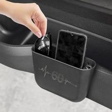 Para mini cooper s r56 r50 f56 jcw r53 f55 r60 r53 r55 r57 r58 f60 f57 um countryman clubman acessórios caixa de armazenamento estilo do carro