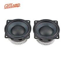 GHXAMP 2 Polegada 6Ohm 15W Unidade Orador Gama Completa de Neodímio Speaker Portátil Pano Borda do Cone de Papel Com Dissipador de Calor driver de áudio Diy