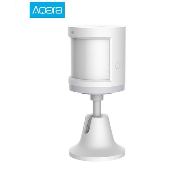 Aqara Sensor de movimiento inteligente ZigBee Gateway para Xiaomi mijia Smart home, Sensor de movimiento corporal inalámbrico con wifi