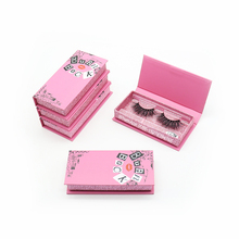 Burn Book Eyelash Case Empty Box Lashwoods Eyelash Case Free Plastic Tray Wholesale Mink Eyelashes Custom Eyelash Packaging