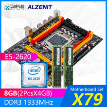 X79 MATX Intel Xeon E5-2620 ECC DDR3 X79M-CE3 ALZENIT with E5-2620/2.0ghz/Cpu/..