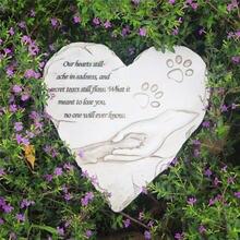 Мемориальная потеря камня для домашних животных подарок собаки