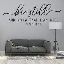 Be still and know that I am God English stickers custom AF3034 wall stickers, wall stickers, English wallpaper