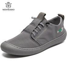 Летняя мужская повседневная обувь удобная легкая Нескользящая
