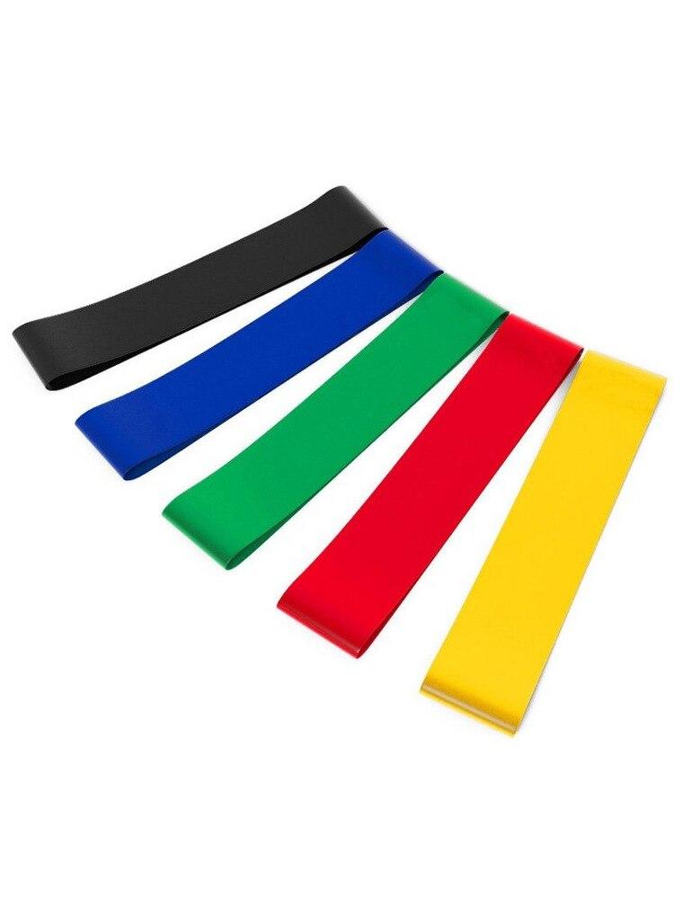 Резиновые ленты LikeGlobal для йоги, фитнеса, тренажерного зала, силовых тренировок, пилатеса, латексные эластичные ленты, оборудование для помещений-1