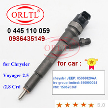Common-Rail-Injector 0986435149 Cheysler 0445110059 New for Jeep:05066820aa-Lsv-Group