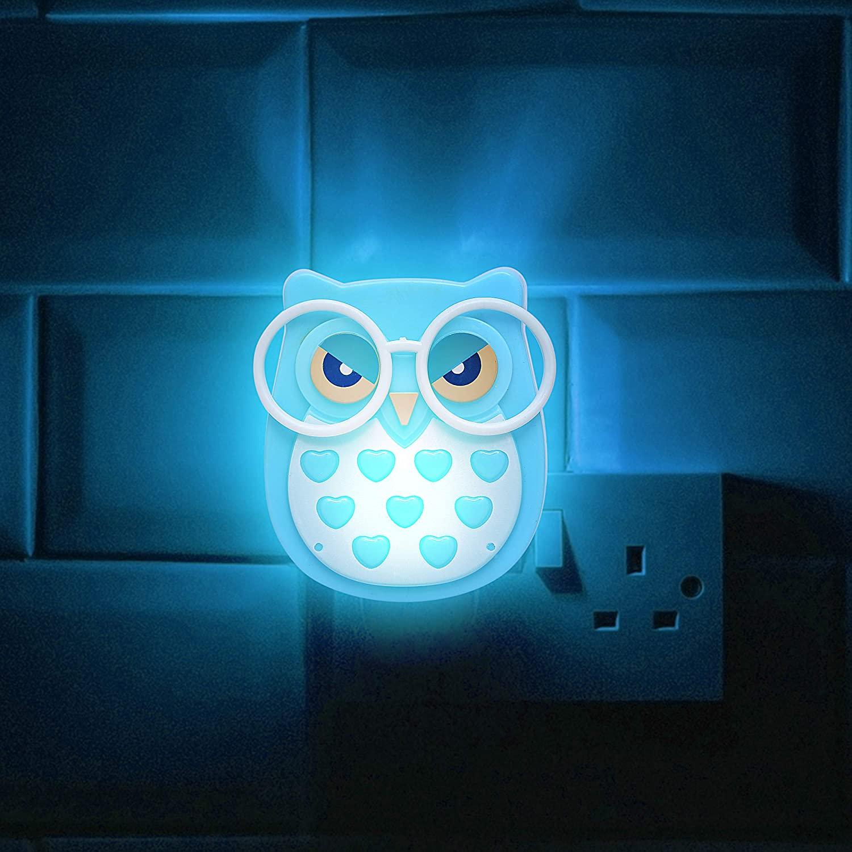 Купить светодиодная настенная лампа в виде совы для детей светильник