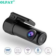 Mini WiFi Car DVR Camera Front Full HD 1080p Universal Dashcam Video Registrator Recorder Night Vision 140 Wide Ang