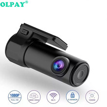Mini DVR Carro Wi-fi Câmera Frontal do DVR Camera Full HD 1080p Universal Dashcam Registrator Vídeo Recorder Night Vision 140 grande Ang(China)