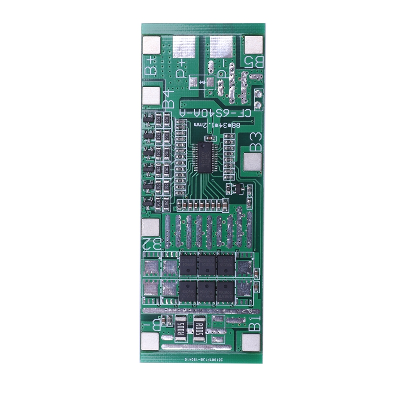 24V 6S 20A 18650 Li-Ion Lithium Battery Protection Board Solar Lighting Bms Pcb With Balance For Ebike Scooter
