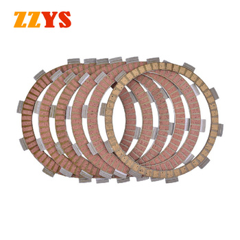 250CC Motorcycle Clutch Friction Plate Kit For HONDA CR125R CR125 XR250R XR250 NX250 CBF250 CRM125 CR CRM 125 XR NX CBF 250 image