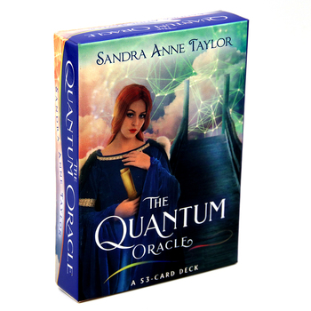 The Quantum Oracle: A 53-Card Deck Guidebook Sandra Anne Taylor Revealing the Potentials In your Future Forging the Destiny margie warrell make your mark a guidebook for the brave hearted