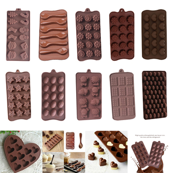 Christmas Design Silicone Baking Molds Made of High Quality Food Grade Silicone Material For Chocolate