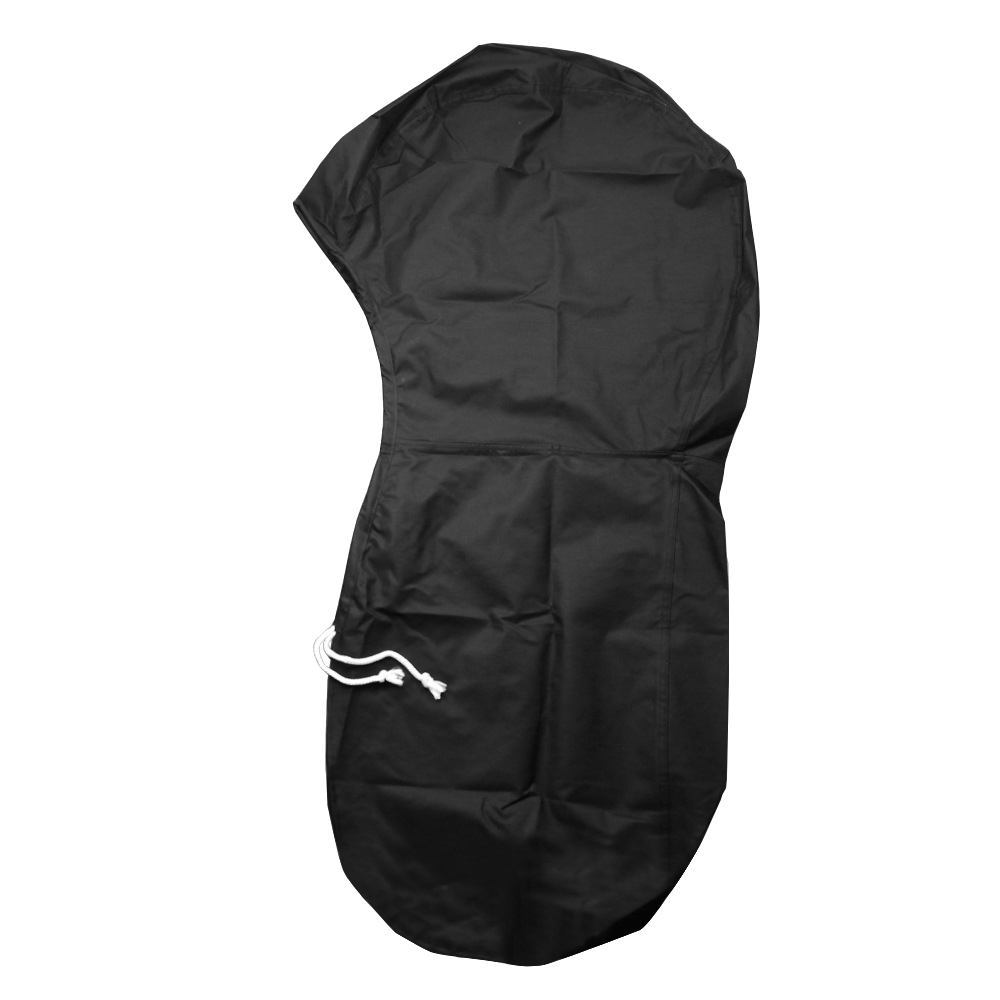 Waterproof 600D Oxford Cloth Boat Full Motor Cover Outboard Engine Protector for 6-225HP Boat Motors Black image