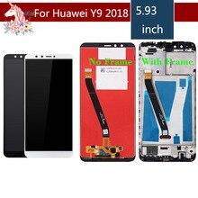 For Huawei Y9 2018 LCD FLA-AL00 FLA-AL10 FLA-AL20 Display Touch Screen Assembly With Frame ENJOY 8 PLUS