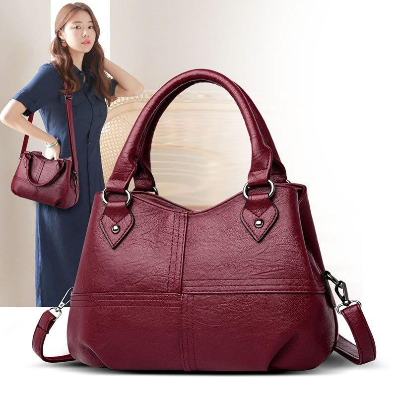 Zdg bolsa de ombro feminina couro genuíno bolsas de luxo preto totes para a moda feminina saco de compras para a menina
