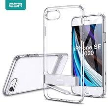ESR 전화 케이스 아이폰 SE 2020 8 7 플러스 11 프로 X XR XS 최대 킥 스탠드 수직 스탠드 홀더 뒷면 커버 아이폰 SE 2020 케이스