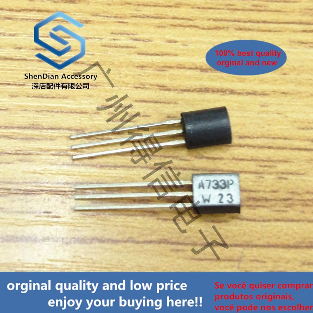 30pcs 100% Orginal New 2PA733P A733 733 TO-92 PNP General Purpose Transistor Real Photo