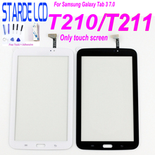 Tablet Touch Screen For Samsung Galaxy Tab 3 7.0 T210 T211 SM-T210 SM-T211 P3200 T217 Touchscreen Digitizer LCD Display Glass цена
