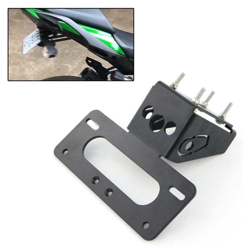 Pour Kawasaki Z1000 2010-2013 Ninja1000 Z1000SX 2011-2020 arrière queue bien rangé enregistrement plaque d'immatriculation support garde-boue éliminateur kit